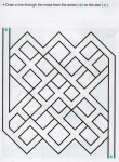 Ages 5-6-7 My Book of Mazes - Animals_37