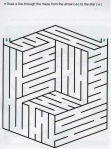 Ages 5-6-7 My Book of Mazes - Animals_43
