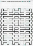 Ages 5-6-7 My Book of Mazes - Animals_49