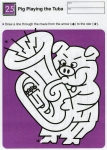 Ages 5-6-7 My Book of Mazes - Animals_50