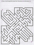 Ages 5-6-7 My Book of Mazes - Animals_63