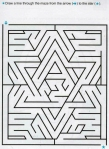 Ages 5-6-7 My Book of Mazes - Animals_73