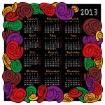 Calendar 2013 Flowers01