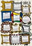 Calendar 2013 Frames01