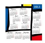 Calendar 2013 Mondrian01