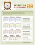2013 Accounting Calendar