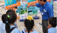Giáo dục trẻ em bảo vệ nguồnnước