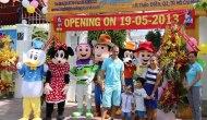 Huỳnh Kesley mở khu vui chơi trẻem