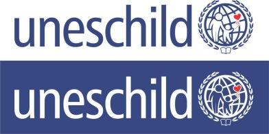 Logo Unescom vì trẻ thơ