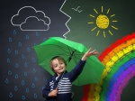 Young optimist – a change in theweather