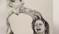 Bức họa mẹ mắng con thức tỉnh những người làm chamẹ